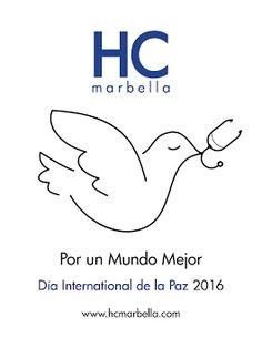 Día Internacional de la Paz 2016 - HC Marbella Hospital Internacional por un mundo mejor #Marbella #DíaInternacionaldelaPaz