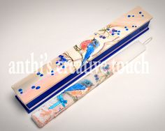 Greek Easter Candle, Easter Candles, AnthiCreativeTouch, Wooden Box, Easter Lambada, Greek Lambada, Gift for Her, Romantic Lambada, Bird by AnthiCreativeTouch on Etsy