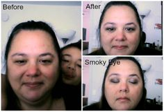 Mary Kay Collage , #markkay #makeover #smokyeye #DIYmakeup