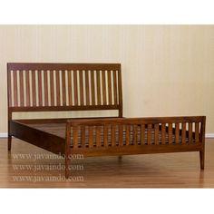 Mahogany Slat Bed Frame
