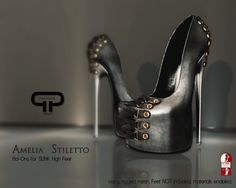 Pure Poison - Amelia Stiletto - Ad-Ons for Slink High Feet | Flickr - Photo Sharing!