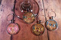 BFF Wine Glass Charms - Set of 4