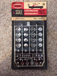 Aurora Parts Pack 1/25-24 model cars