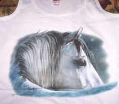 Eye of Wisdom Ladies' Horse Tank Top