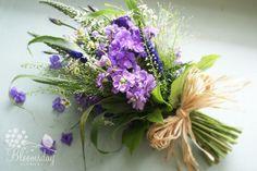 Wildflower bridesmaids bouqet by bloomsdayflowers Flower Bouquet Wedding, Bridesmaid Bouquet, Bridal Bouquets, Irish Wedding Traditions, Wild Flower Arrangements, Wedding Arrangements, Funeral Flowers, Fall Wedding, Wedding Trends