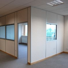warehouse with office - Google Search Furniture, Tv Wall, Home, Glass Partition, Glass Panels, Office, Room Divider, Refurbishing, Tv Wall Decor