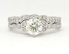 love how the fit together....  Antique ring-absolutely stunning!