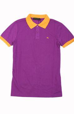Brand New  Etro Short Sleeve Polo T-Shirt Size-S #Etro #EmbellishedTee