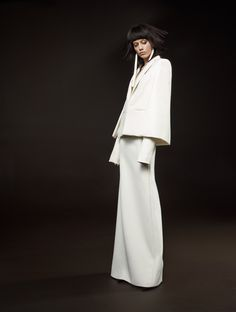 Menswear-Inspired Looks for the Cool Girl Bride