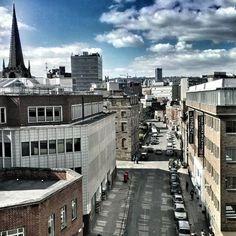 City Street view (photo by @ apintinthehills on IG) #socialsheffield #sheffield
