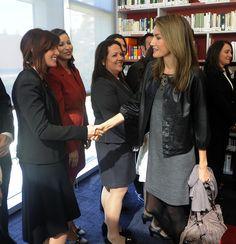 Queen Letizia of Spain Photos - Inauguration Of The Cervantes Institute In Chicago - Zimbio