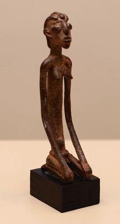 Dogon Sculpture Bronze, Mali, 11cm.