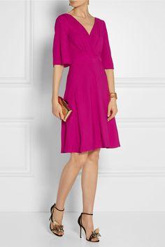 Gucci|Silk-cloqué dress|NET-A-PORTER.COM