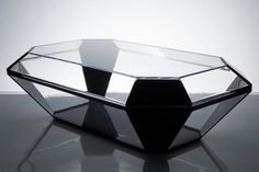 glass coffin coffee table