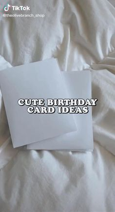 Birthday Gift Cards, Cute Birthday Gift, Birthday Cards For Friends, Bday Cards, Birthday Gifts For Best Friend, Diy Birthday Journal, Diy Crafts Hacks, Diy Crafts For Gifts, Diys