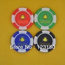 CP-016 Casino Poker Chips Ceramic Suppliers Free Custom Logo Shipping Free(China (Mainland))
