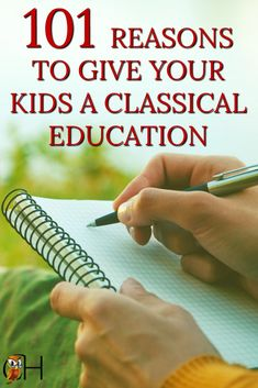 Have you ever wondered why classical education? What does a classical homeschool actually have to offer to your children and your family? Here's the answer: via @classichomesch