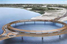 Ponte Laguna Garzón é inaugurada no Uruguai divulgação/divulgação