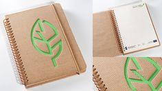 Bardzo fajny ekologiczny notes reklamowy. Świetny pomysł i bardzo dobry efekt!