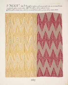 Barron and Larcher Alice Block Printed Fabric.
