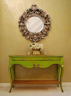 Decor - Чудеса своими руками: Консоль в интерьере: 20 красивых консольных столик...