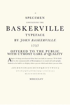 john baskerville - Google Search