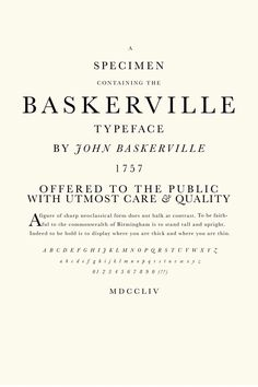 john baskerville - Google Search