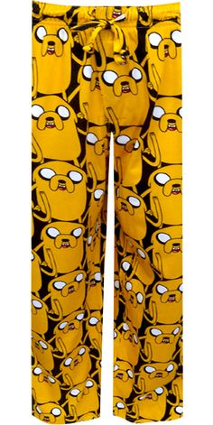 Adventure Time Jake The Dog Lounge Pants Are you ready for adventure in the Land of Ooo? These lounge pants showcase Jake the D...