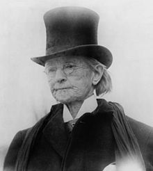 Mary Edwards Walker in her later years, 1911. She received the Medal of Honor for her work as a surgeon during the US Civil War, the only woman to ever get one. In 1917 the Army tightened up the rules for what you had to do/be to get the MoH...and deleted 911 names from the Medal of Honor Roll, including hers. She kept her medal and wore it till her death. Jimmy Carter restored her medal posthumously.