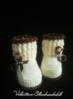 Items similar to Knitted Baby booties,Baby booties.Handmade Baby boot… Items similar to Knitted Baby booties,Baby booties. Pregnancy gift basket on Etsy Baby Booties Knitting Pattern, Knit Baby Shoes, Crochet Baby Booties, Baby Boots, Baby Knitting Patterns, Baby Patterns, Knitted Baby, Doll Patterns, Pregnancy Gift Baskets
