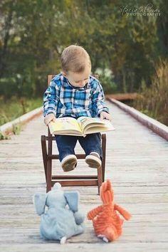 un bambino che legge sarà un adulto che pensa