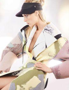 fashion editorials, shows, campaigns & more!: astrattismi: angela lindvall by alex cayley for amica february 2014 Sport Fashion, 90s Fashion, Couture Fashion, Love Fashion, High Fashion, Fashion Show, Autumn Fashion, Fashion Design, Hedi Slimane