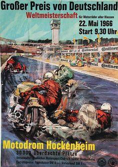 Motodrom Hockenheim - 1966 -
