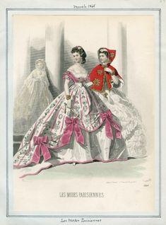 1865 (Mar.) Les Modes Parisiennes / Casey Fashion Plates Detail | Los Angeles Public Library