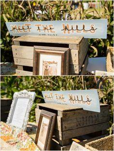 This wedding has SO much DIY signage!  Hill City Bride - Elizabeth Henson - DIY #diy #signage #signs #wedding #virginiawedding