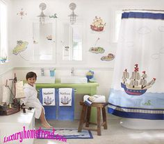 When kids mature they want to have their separate bedroom, bathroom and other things. After decorating kids bedroom it's time to decorate the kids bathroom and give a smile on their faces. For parents easiness here we gathered top ten lovely kids bathroom ideas it could help you to make a better one.