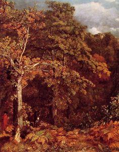 John Constable, Wooded Landscape 1801-1802.