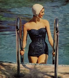 Going back to the 50s would be fun -- but I say leave the bathing caps out of the picture OK?
