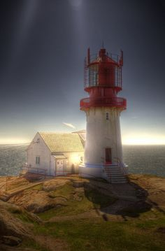 Lindesnes Lighthouse, Norway.