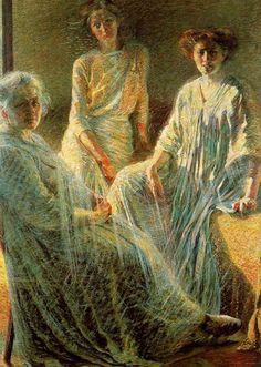 Three Women by Umberto Boccioni, 1910 - Umberto Boccioni - Wikipedia, the free…