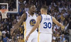 The Dubs had two players average at least 25points per game in the same season for the first time ever: Curry (25.3) and Durant (25.1). #GAM30VER