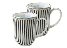 Lisbeth Dahl | Set of 2 Porcelain Cups