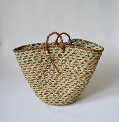 Your place to buy and sell all things handmade Kitchen Baskets, Home Decor Baskets, Basket Decoration, French Baskets, Belly Basket, Market Baskets, Minimal Decor, Handmade Home, Bohemian Decor