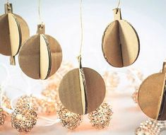 Frugal Christmas, Christmas 2014, Christmas Crafts, Diy Home Crafts, Xmas Decorations, Christmas Inspiration, Recycling, Paper Crafts, Pinterest Pinterest