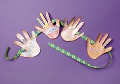 Give Our Class a Hand—Celebrate Diversity Banner lesson plan