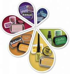 Check out these exciting products from Clearsnap: ColorBox Blends, Art Screens, and Glitter & Embossing Powders!