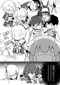 Type Moon, Manga, Shoujo, Cute Art, Nasu, Fan Art, Anime, Comics, Twitter