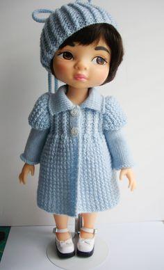 Baby Blue Coat pattern for Animators