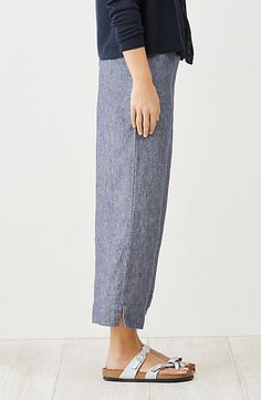 Women's apparel, accessories, and footwear from J. Linen Crop Pants, Cropped Pants, Fix Clothing, Clothing Ideas, Stitch Fix Stylist, Classic Outfits, Linen Dresses, Pants Outfit, Fashion Outfits