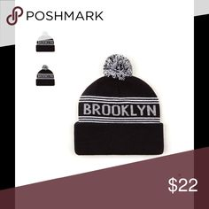 NEW! AA Pom Pom Brooklyn Beanie❤️🎉 New archly I super warm signature AA style authentic American Apparel Accessories Hats